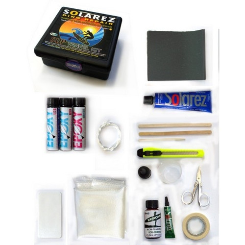 Solarez Epoxy Pro-Travel Surfboard Repair Kit