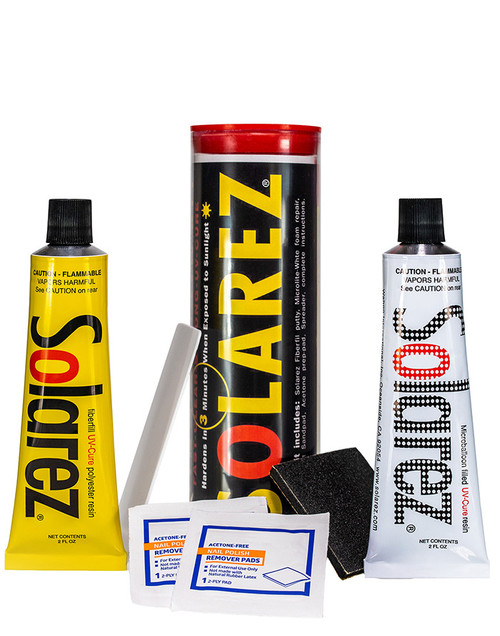 Solarez Polyester Microlite Econo Kit - Solarez Polyester Microlite Econo Kit