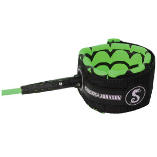 Sticky Johnson Leash - Neon Green