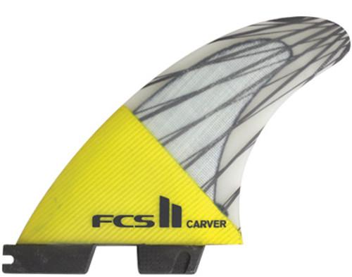 FCS II Carver Tri Set Performance Core Carbon - FCS II Carver Tri Set Performance Core Carbon