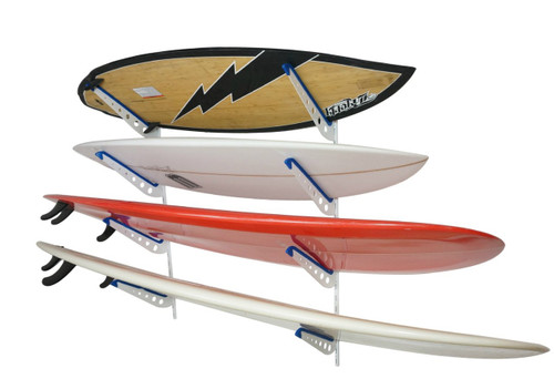 Curve Surfboard Rack Quad Adjustable - Curve Surfboard Rack Quad Adjustable