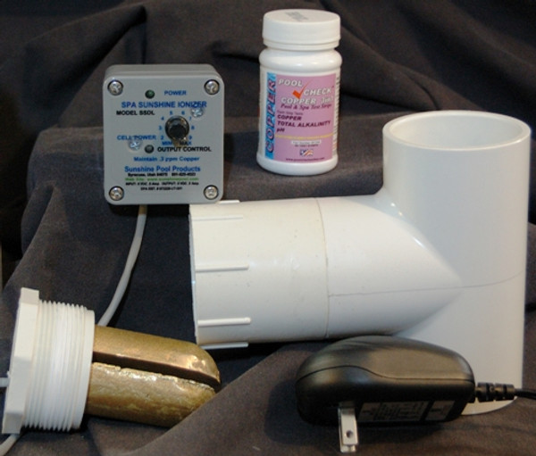 Spa or Hot Tub Deluxe Sunshine Ionizer Model SSDL