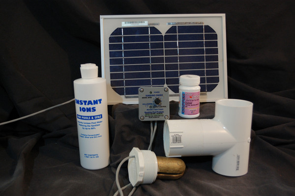 Spa or Hot Tub Solar Powered Deluxe Sunshine Ionizer Model SSDSWS Does not include bottle of Instant Ions.