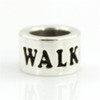 Sterling Silver WALK Endurance Bead