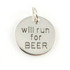 Will Run for Beer Charm