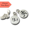 Sporty Gal-Race-Running Shoe Charm Combo