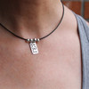 Sterling Silver (.935) Race Necklace - Choose Race or Sport