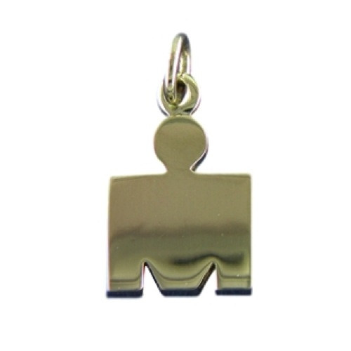 M-Dot Pendant #3 14kt Yellow Gold - SPECIAL ORDER (see description)