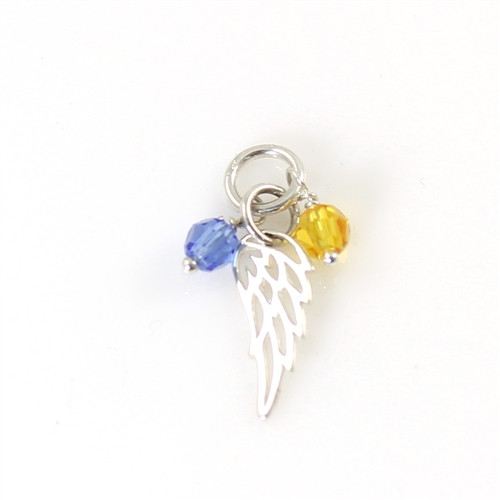 Decorative Crystals with Angel Wing