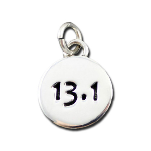 Sterling Silver 13.1 Charm