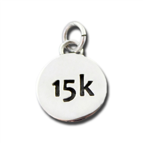 Sterling Silver 15k Charm