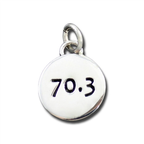 Sterling Silver 70.3 Charm