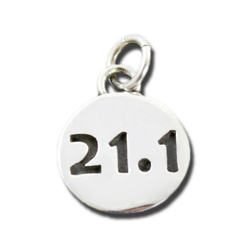Sterling Silver 21.1 Charm