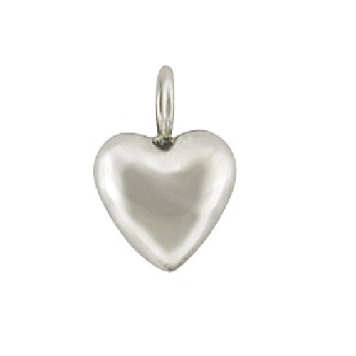 Sterling Silver Mini Heart Charm