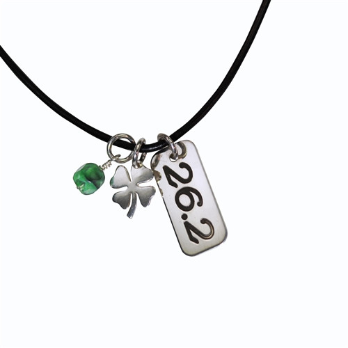 26.2 Shamrock Power Charm Necklace