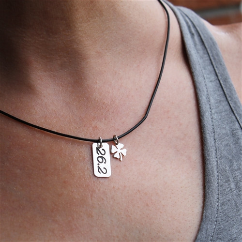 26.2 TrackTag Lucky Necklace