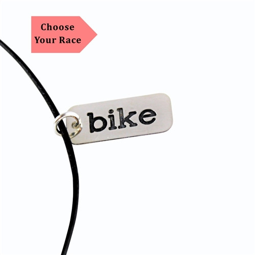 Sterling Silver (.935) Race Necklace - Choose Race