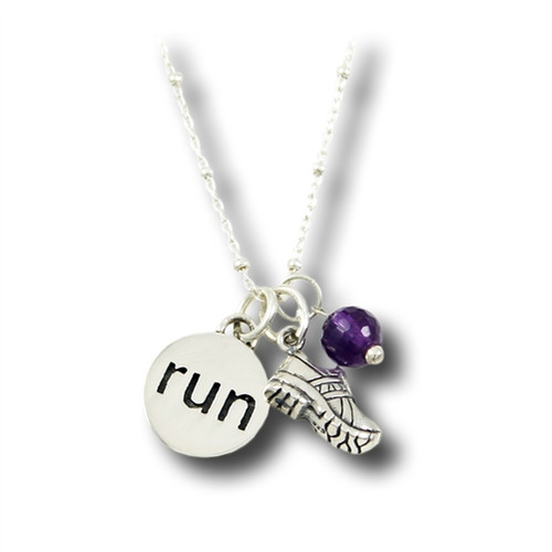 Running Shoe Charm Necklace