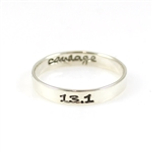 13.1 Courage Stacker Ring