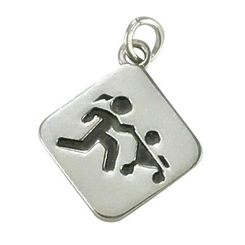 Sporty Gal Mother Runner Pendant