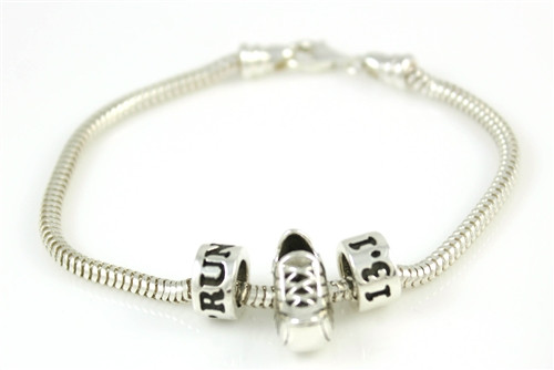 Sterling Perfect Race Bracelet showing clasp