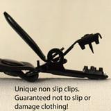 Non slip clips