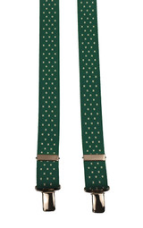 Green Trouser Braces For Kids