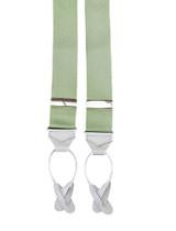 Opal Green Button On Braces