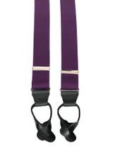 Purple Button On Braces