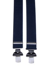 Extra Wide Navy Blue Braces