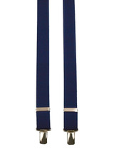 Skinny Navy Blue Braces