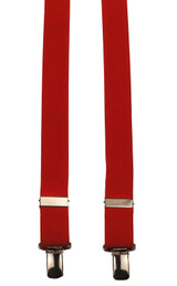 Skinny Red Braces