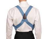 Denim Blue Hip Clip Braces