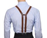 Chestnut Brown H-Back Braces