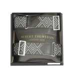 Albert Thurston Black Patterned Armbands