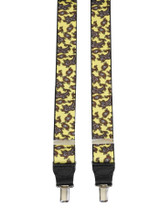 Albert Thurston yellow paisley braces