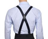 Navy Airport Friendly Suspenders X Back