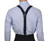 Navy Airport Friendly Suspenders Y Back