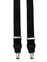 Black Satin Braces