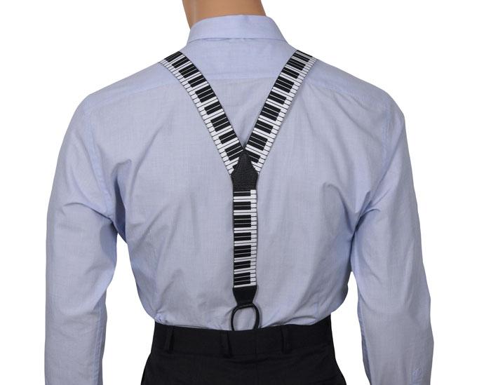 Y Back Button Braces