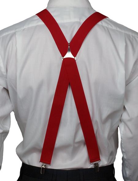 X Back Style Braces For Men