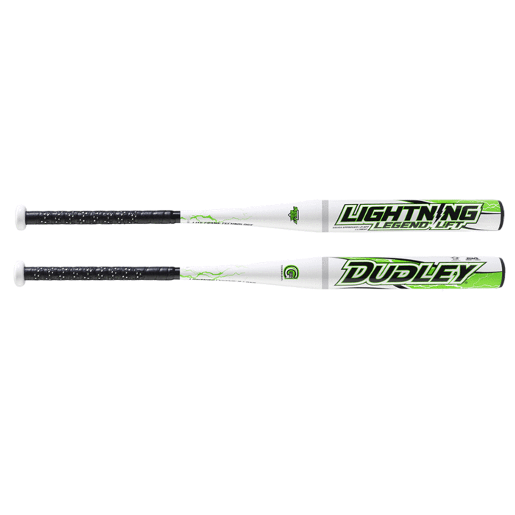 2018 DUDLEY LIGHTNING LEGEND LIFT BALANCED 13 INCH BARREL SENIOR SOFTBALL BAT: LL13BSP