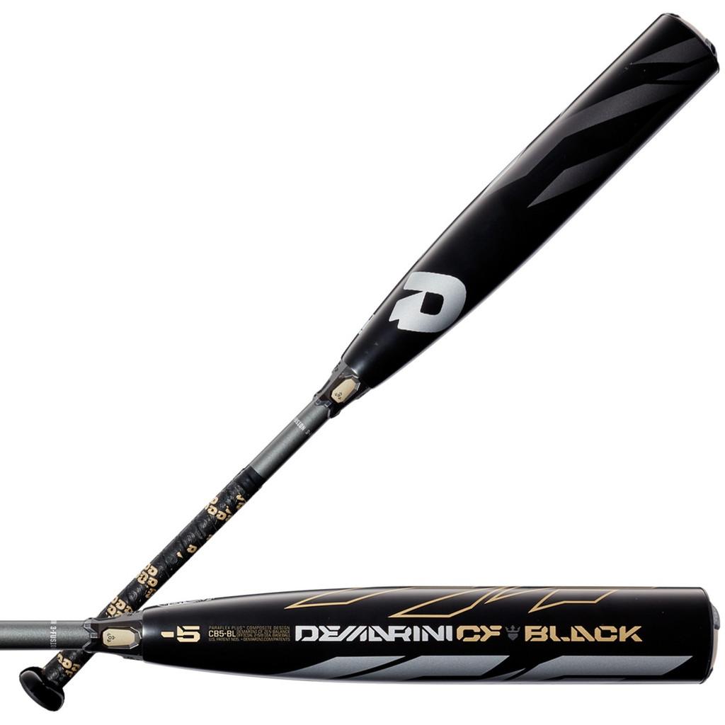 2019 DeMarini CF Zen Black USSSA -5 Senior Baseball Bat WTDXCB5-BL