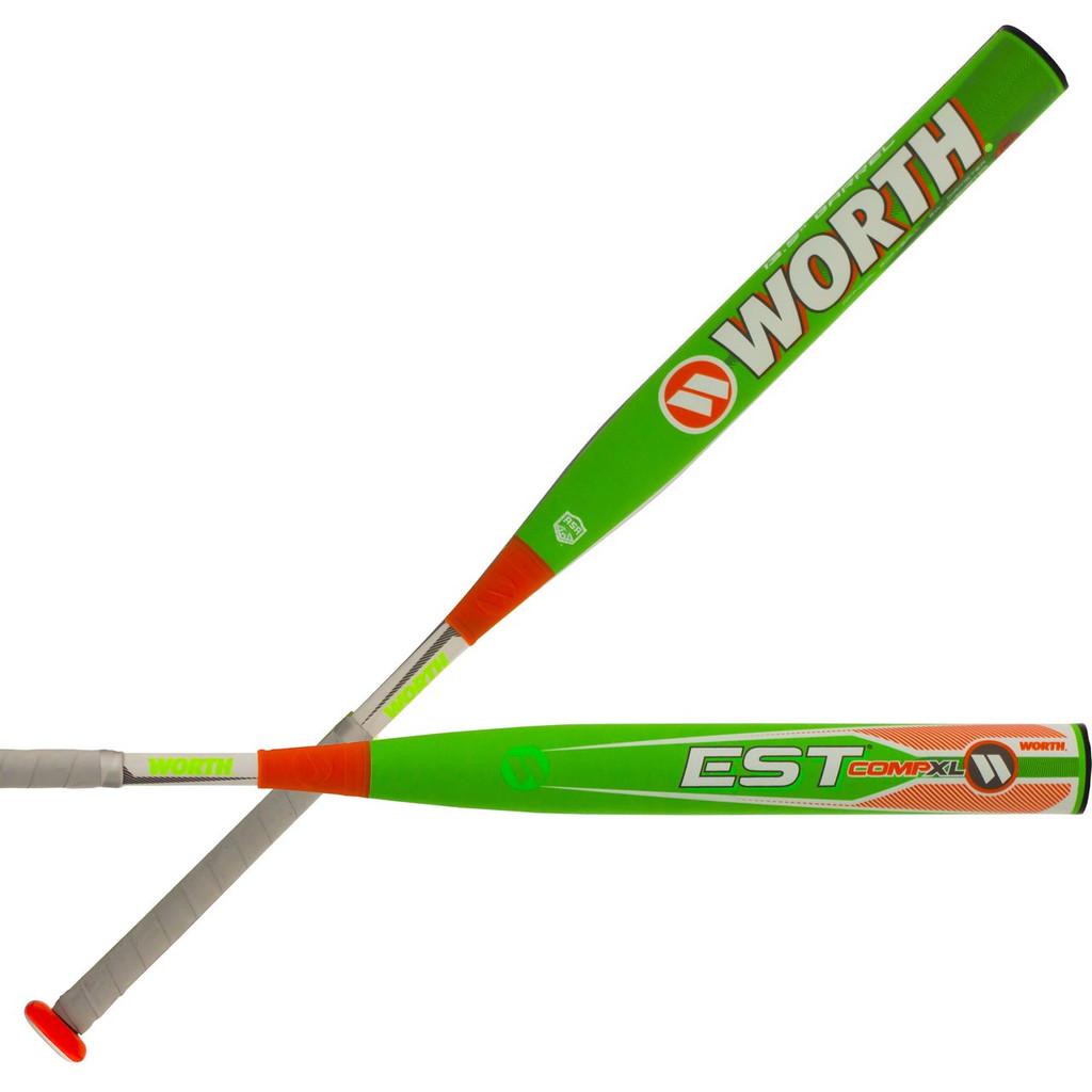 """2019 Worth EST Comp 13.5"""" XL ASA Slowpitch Softball Bat WE19MA"""