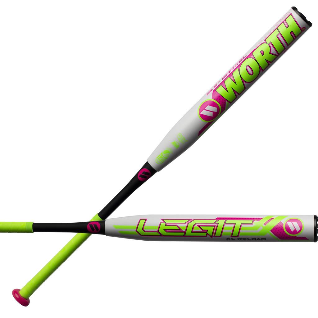 2019 Worth Legit Watermelon XL Slowpitch Softball Bat WMELON