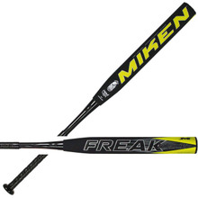 "2019 Miken Freak Black 14"" Throwback Series Slowpitch Softball Bat FRKBKU"