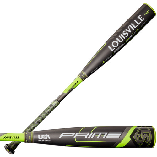 2020 Louisville Slugger Prime -10 Youth USA Baseball Bat WTLUBP9B1020