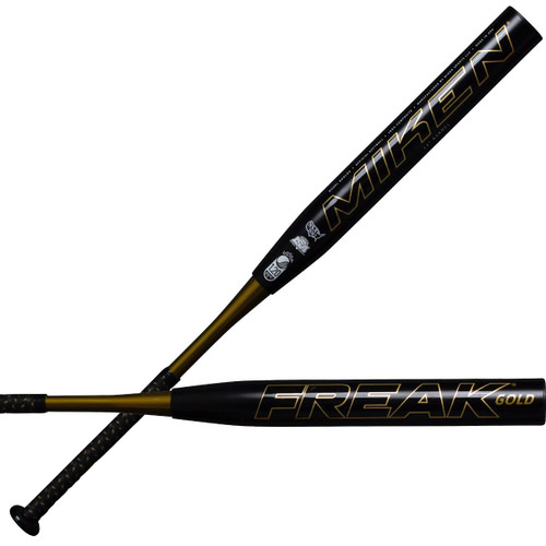 2020 Miken Freak Gold Maxload USSSA Slowpitch Softball Bat MGOLDU
