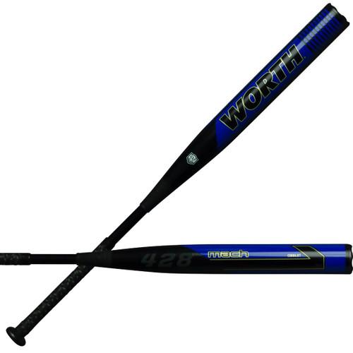2020 Worth MACH 1 CJ 428 XL ASA Slowpitch Softball Bat WM20MA