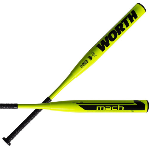 "2021 Worth Mach 1 XXL 13.5"" USSSA 240 Slowpitch Softball Bat WM21MU"